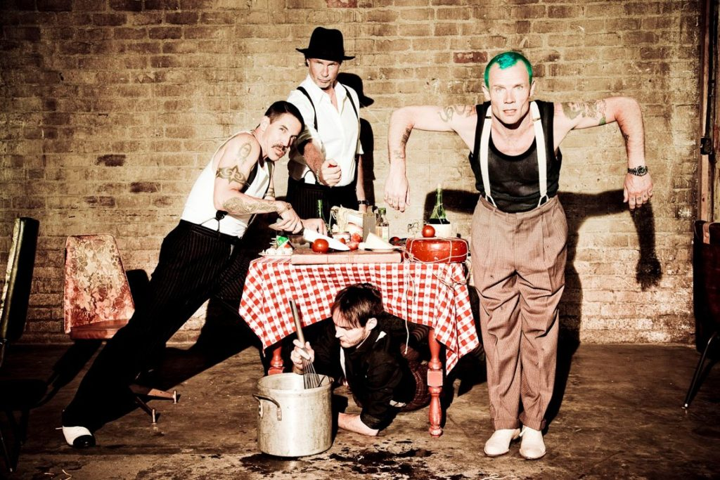 Red Hot Chili Peppers/facebook@ChiliPeppers/Photo by Ellen Von Unwerth