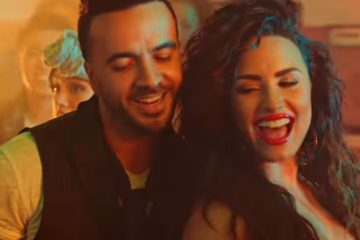Luis Fonsi i Demi Lovato/ Photo: youtube.com printscreen