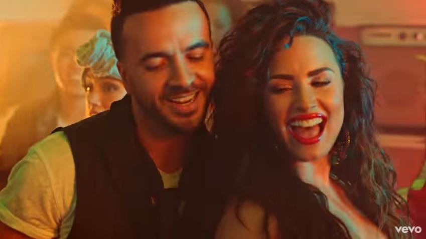 Luis Fonsi i Demi Lovato/ Photo: youtube.com printscreen
