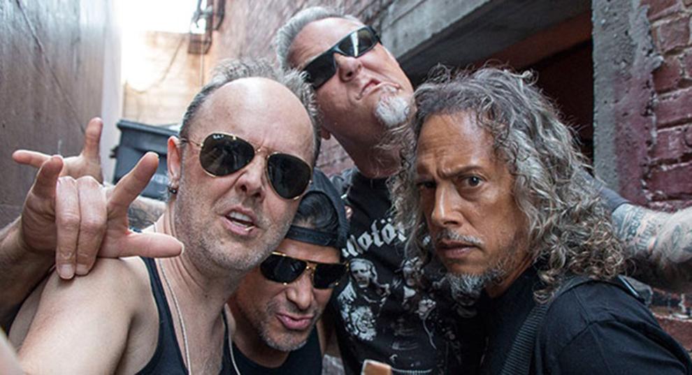 Metallica/Photo: facebook@Metallica