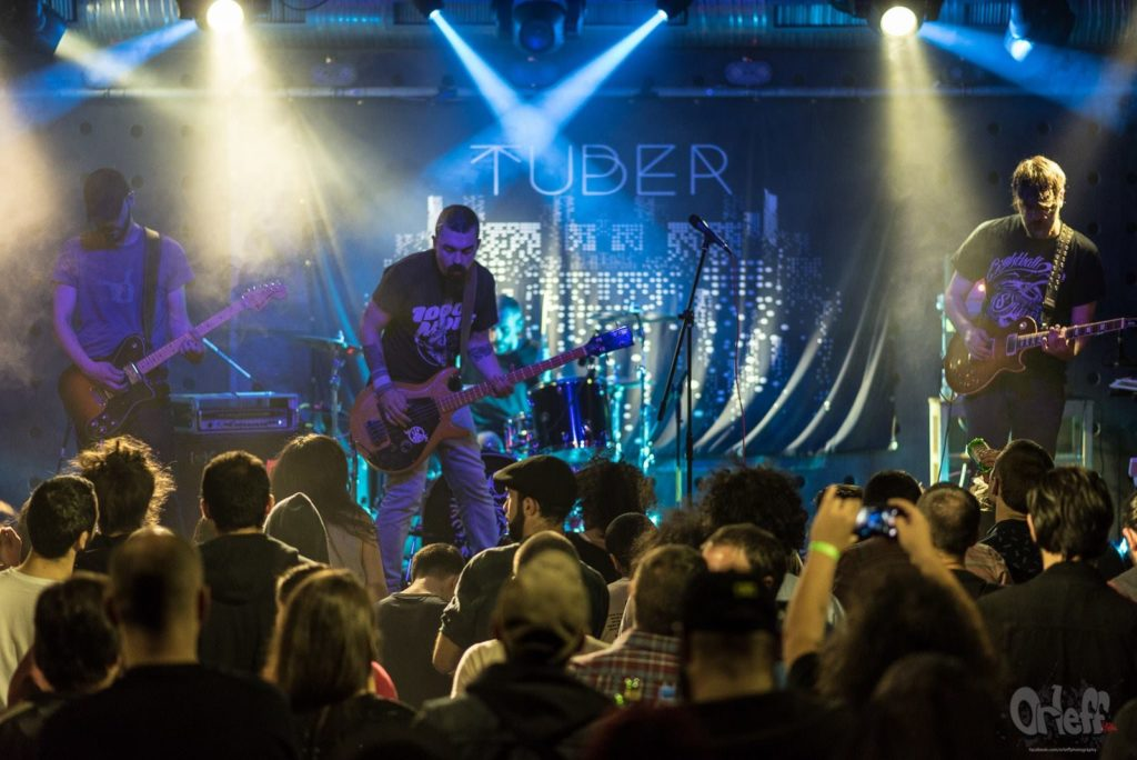 Tuber/ Photo: Facebook @tuberband