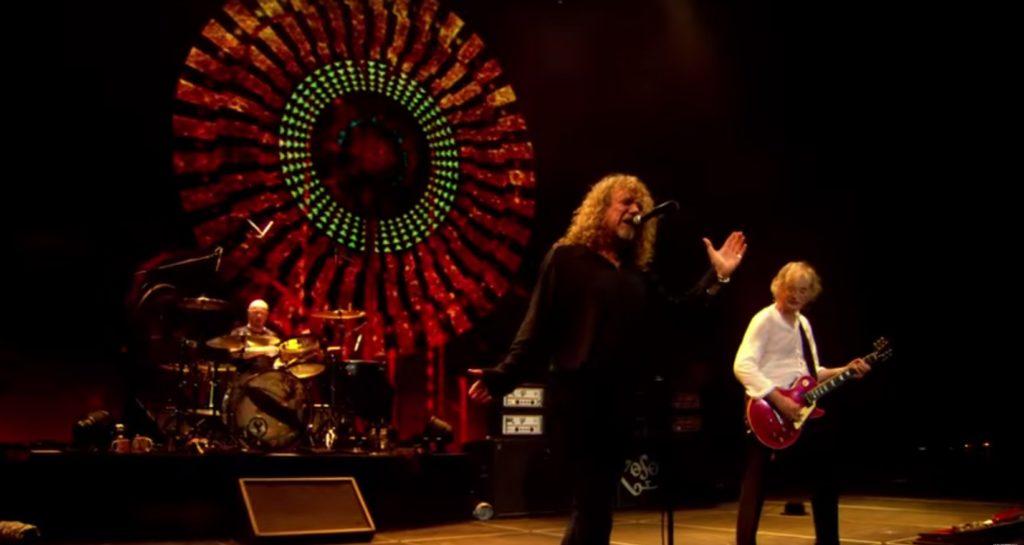 Led ZeppelinPhtoo: YouTube printscreen