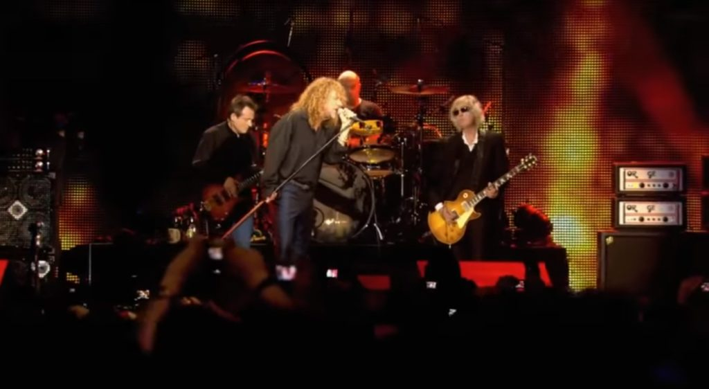 Led ZeppelinPhtoo: YouTube printscreen