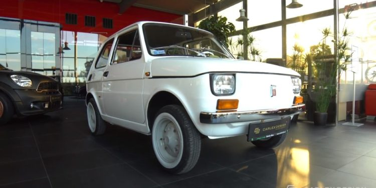 Fiat 126T/Photo; YouTube printscreen