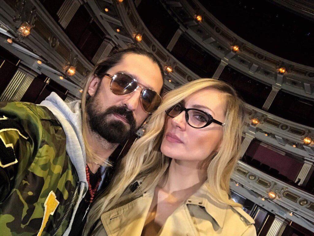 Veljko Kuzmančević i Jelena Gavrilović/Photo; facebook
