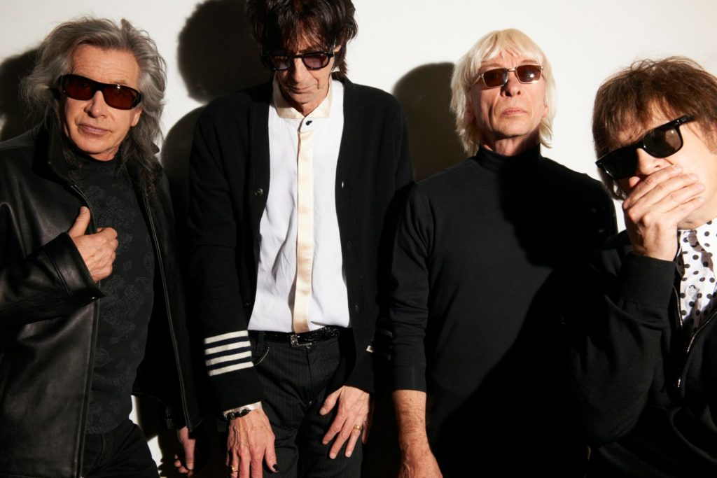 The Cars/Photo: facebook@TheCars