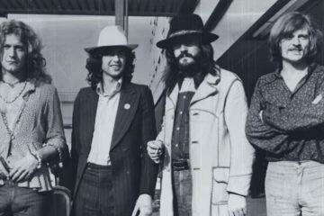 Led Zeppelin/ Photo: youtube.com printscreen