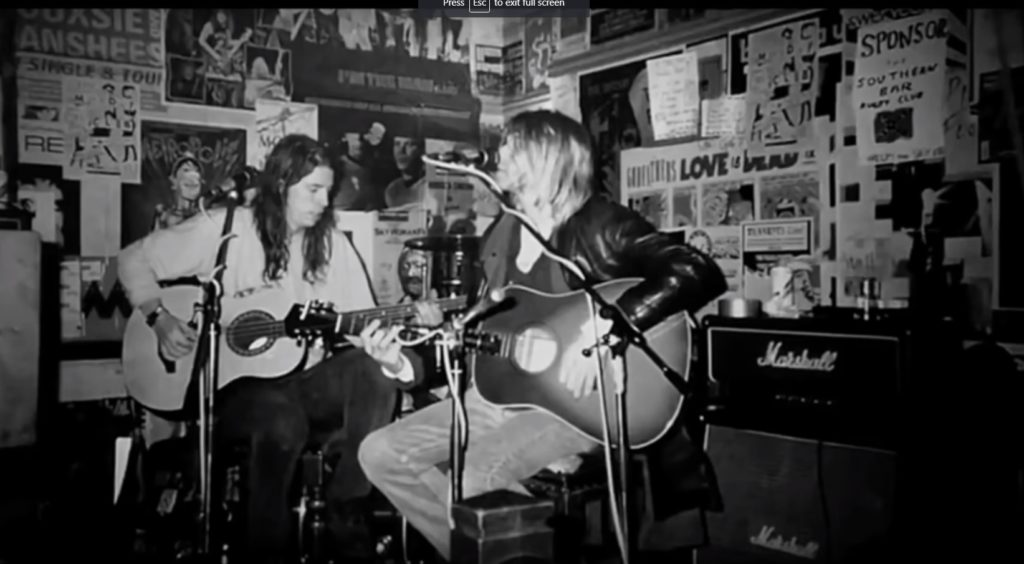 Nirvana/Photo: YouTube porinscreen
