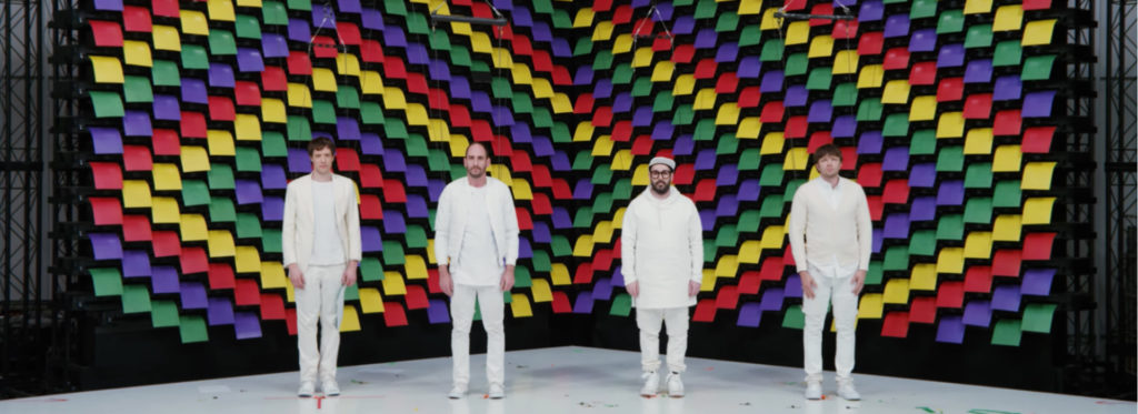 OK Go/Photo: YouTube printscreen