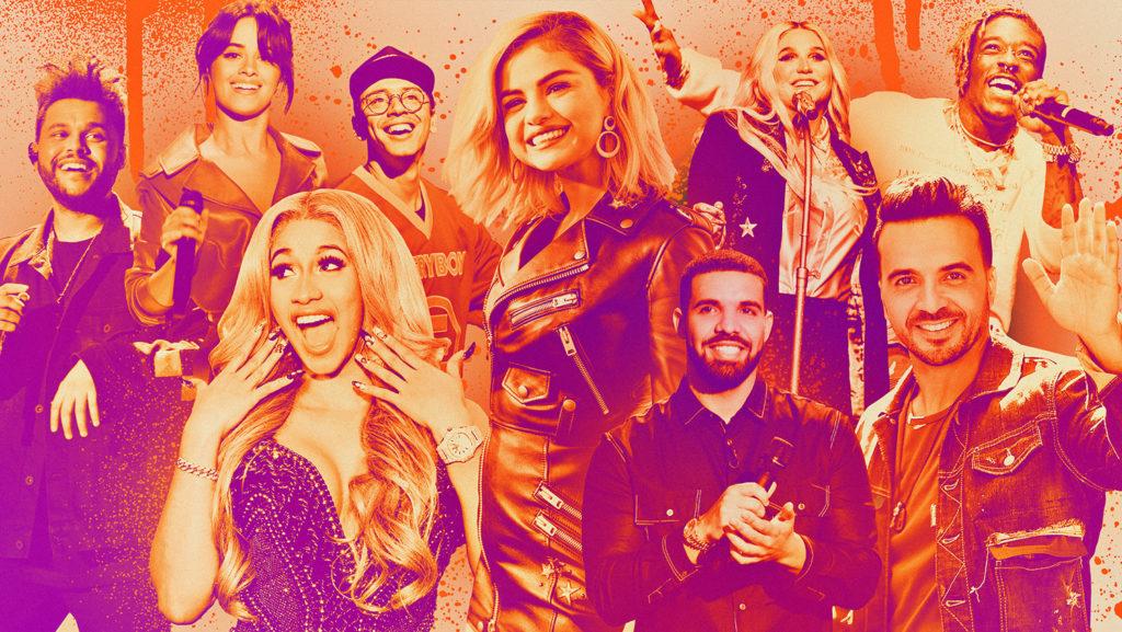 Billboard Top 100 songs
