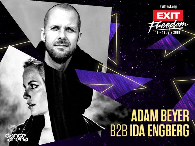 Adam Beyer, Ida Engberg/ Photo: Exit