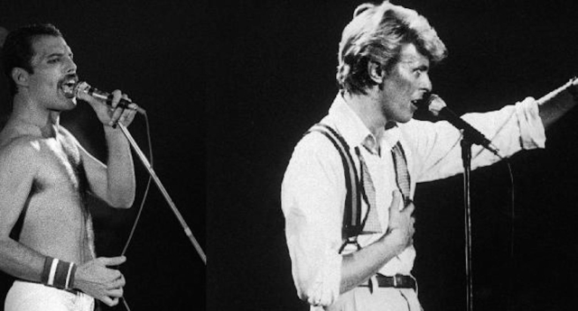 Queen & Bowie/Photo: YouTube printscreen