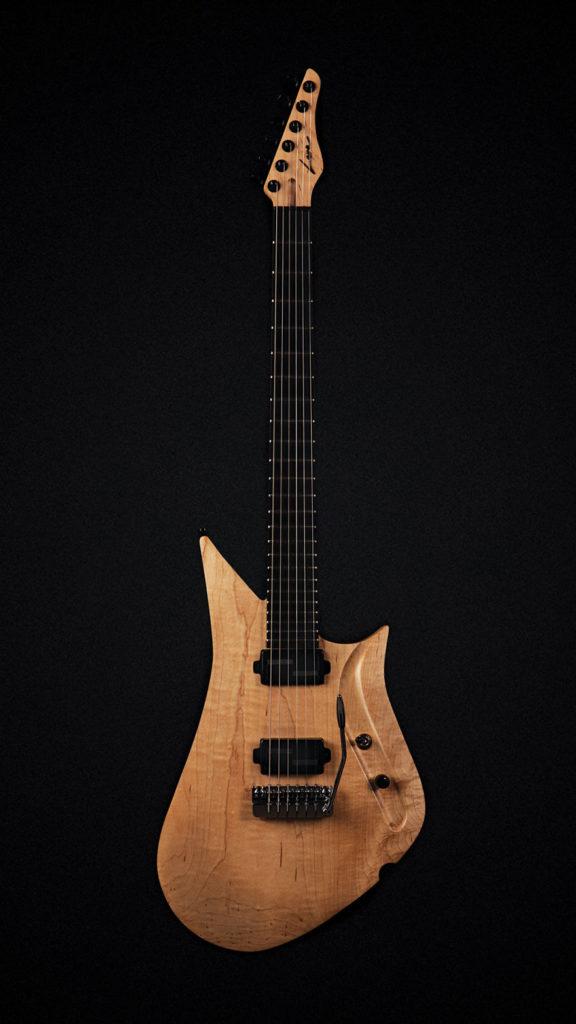 Lava Drop plus - vrlo lagana gitara izrađena iz jednog komada evropskog javoroevog drveta