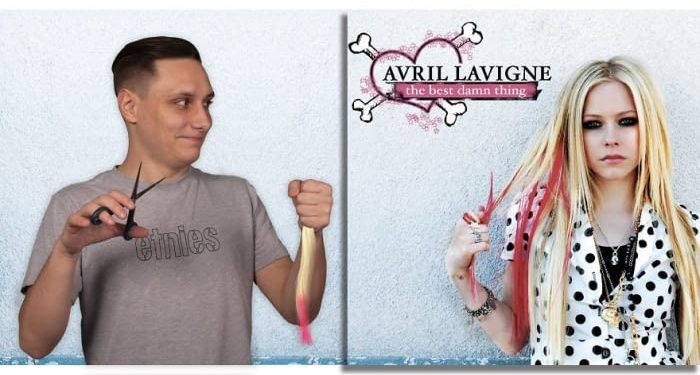 Avril Lavigne – The Best Damn Thing (2007)/Igor Lipčanski, photoshop
