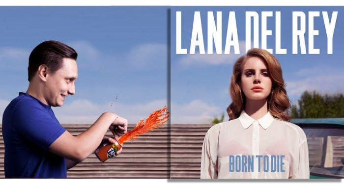 Lana Del Rey – Born To Die (2012)/Igor Lipčanski, photoshop