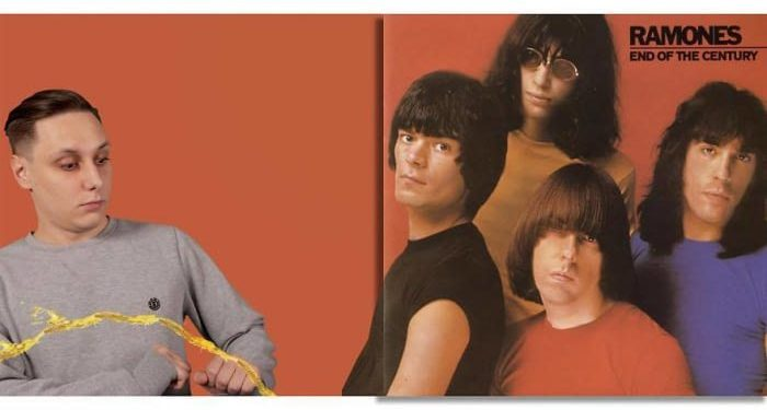 Ramones – End Of Century (1980)/Igor Lipčanski, photoshop
