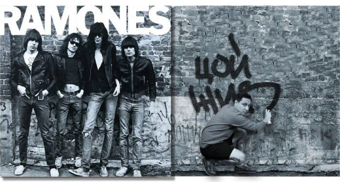 Ramones – Ramones (1976)/Igor Lipčanski, photoshop