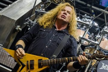 Dejv Mastejn/ Photo: Facebook @Megadeth
