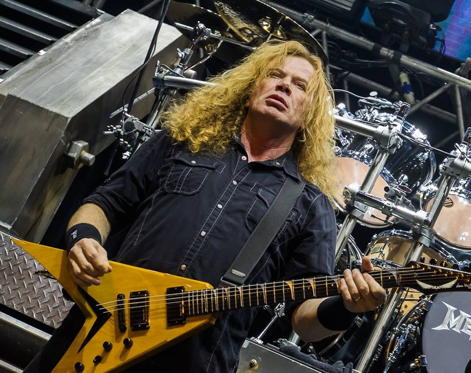 Dejv Mastejn/ Photo: Facebook @Megadeth