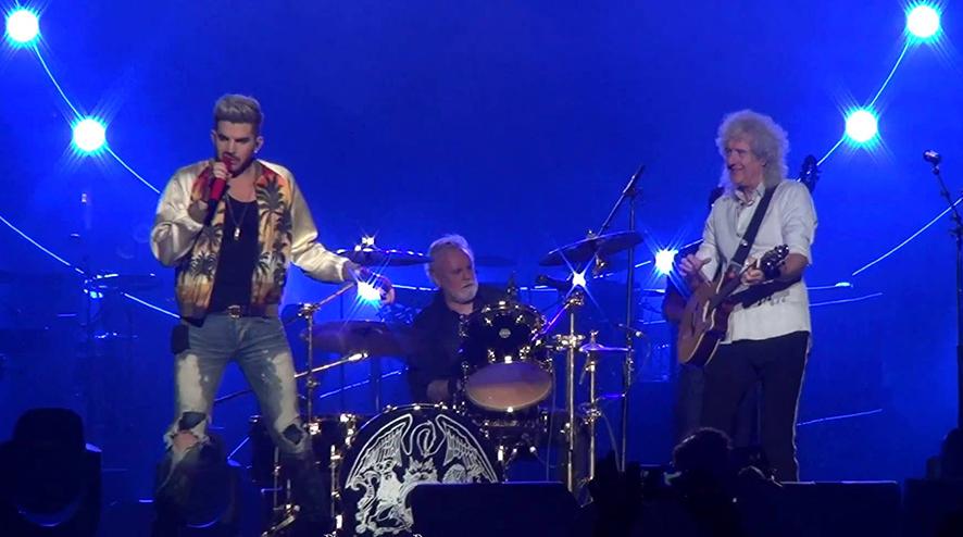 Queen & Adam Lambert/Photo: YouTube prinrtscreen