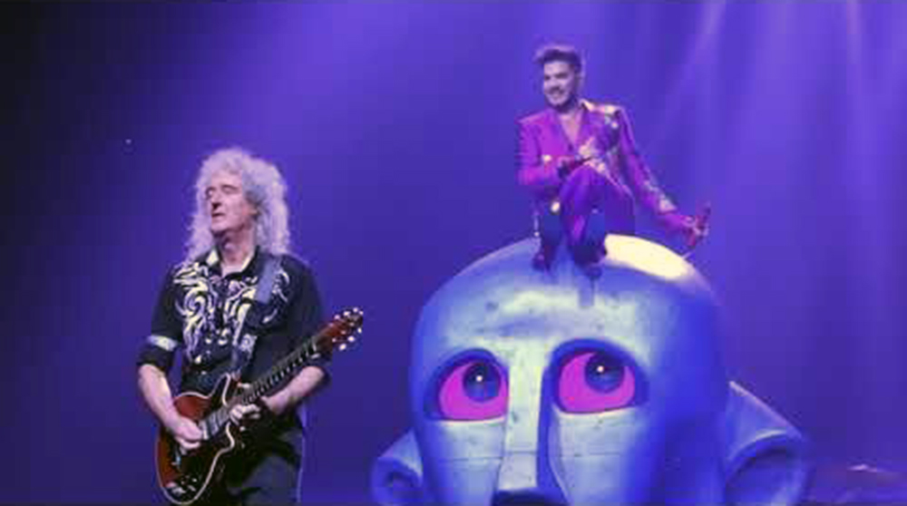 Queen & Adam Lambert/Photo: YouTube prinrtscreen