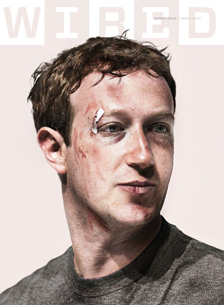Mark Zakerberg/Wired cover, screenshot
