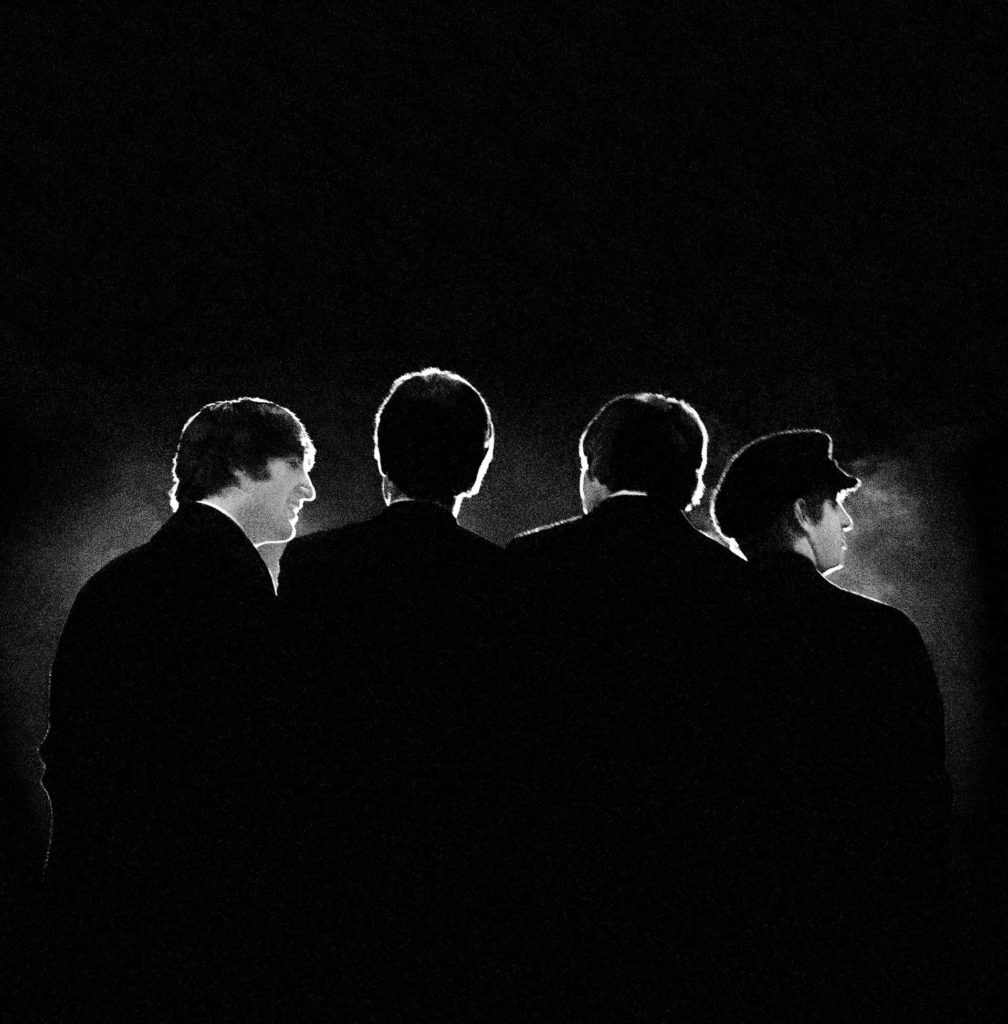 The Beatles/Photo: Mike Mitchell. printscreen paddle8.com