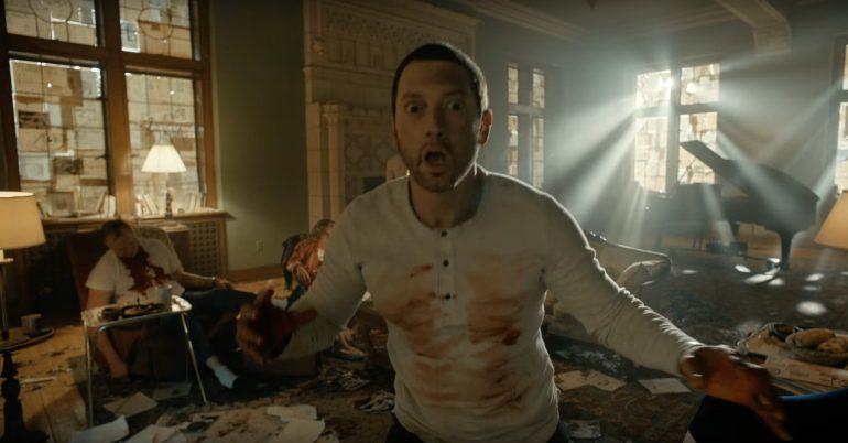 Eminem/Photo: YouTube printscreen