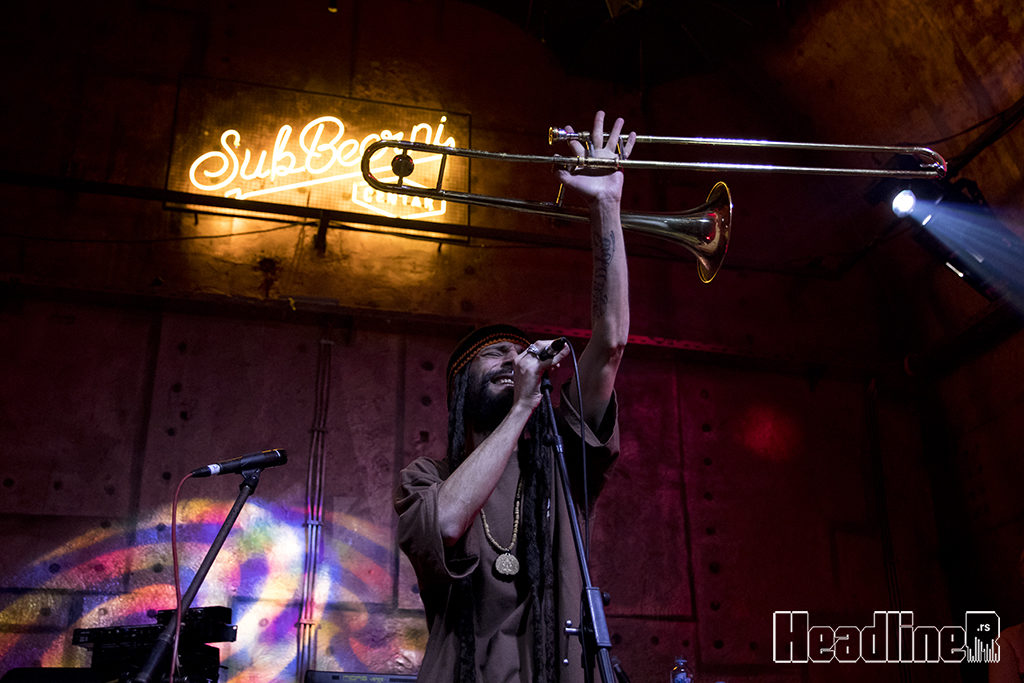 Hornsman Coyote Soundsystem/ Photo: AleX