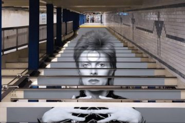 Dejvid Bouvi, NY metro/Photo: Spotify