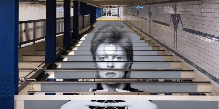 Dejvid Bouvi, NY metro/Photo: Spotify