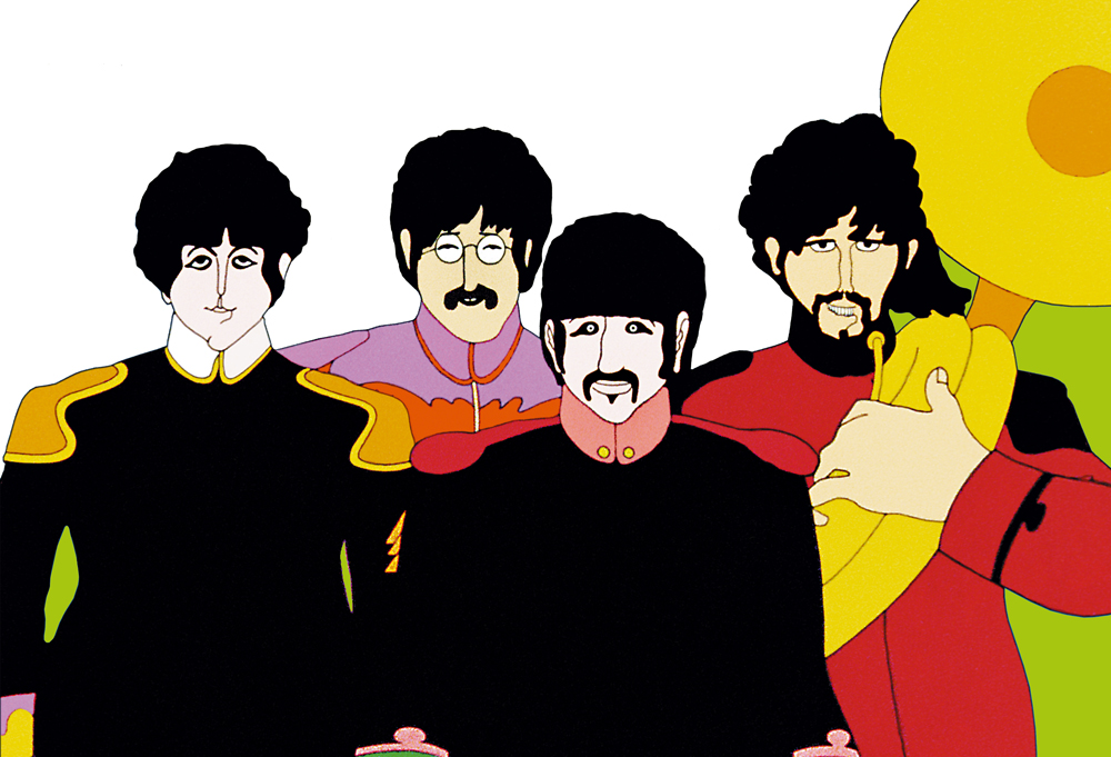 The Beatles, Yellow Submarine, promo