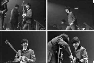 The Beatles/Photo: Mike Mitchell. printscreen Pinterest