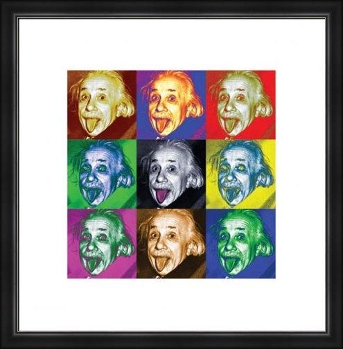 Albert Ajnštajn/Pop Art