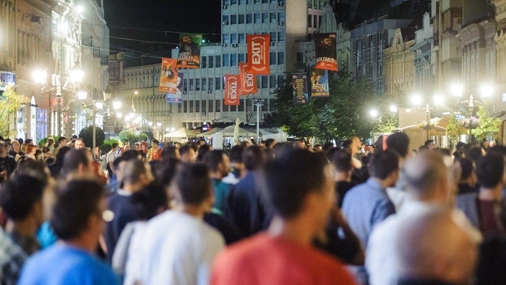 Dan pobede,Trg slobode, Novi Sad/Photo: facebook@exit.festival