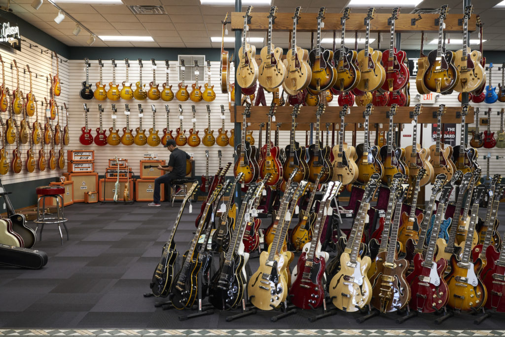 Guitar Showroom/Photo: Promo