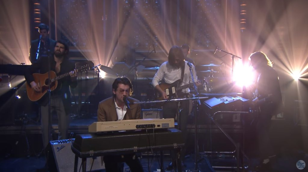 Arctic Monkeys/ Photo: youtube.com printscreen