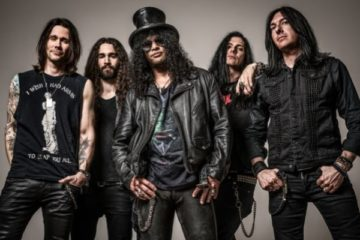 Slash ft. Myles Kennedy & the Conspirators/Photo: Pinterest