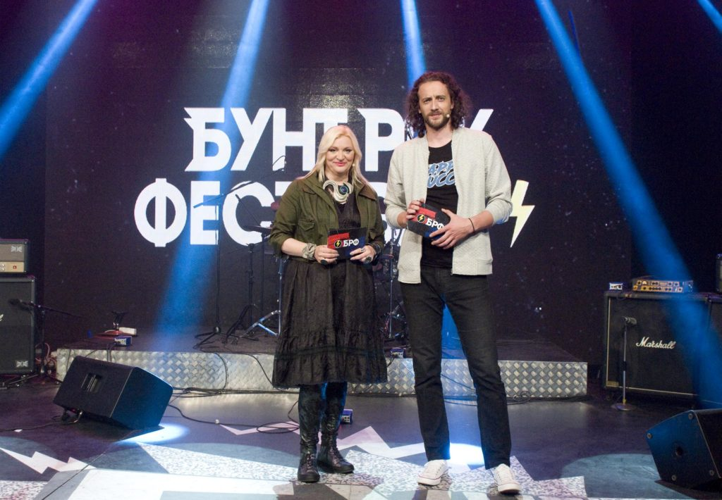 Branka Glavonjić i Boris Bakalov/ Photo: Promo