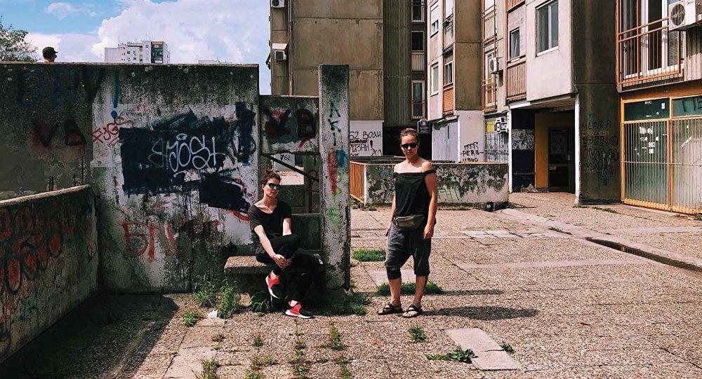 Ruska filmska ekipa u Beogradu/Photo: facebook