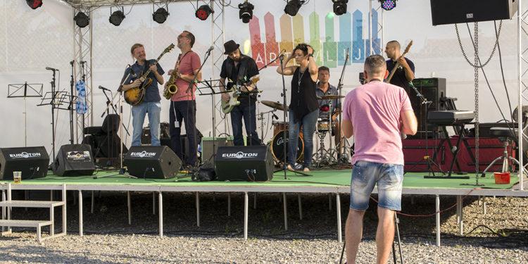Di Luna Blues Band/ Photo: AleX