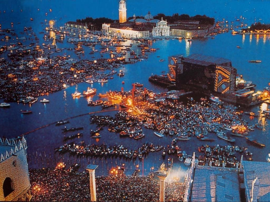 Pink Floyd, Live in Venice/Photo: YouTube printscreen