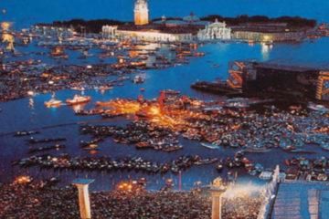 Pink Floyd, Live in Venice/Photo: YouTube printscreen