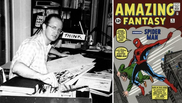 Stiv Ditko, Spajdermen/Photo: printscreen
