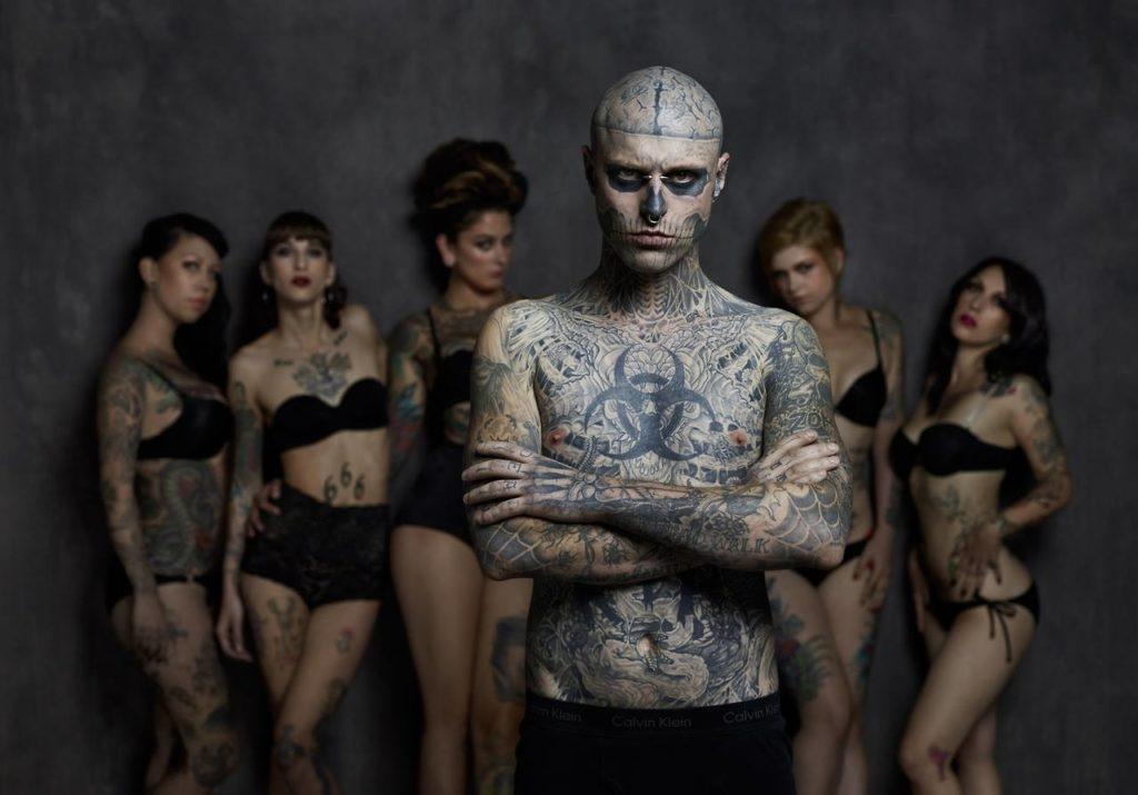Zombie Boy/Photo: facebook@RicoTheZombie