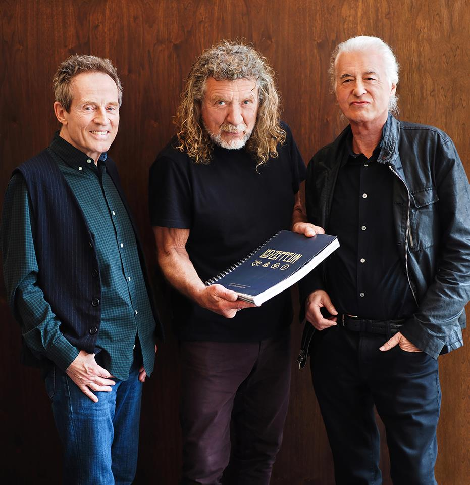 Led Zeppelin/Photo; facebook@ledzeppelin