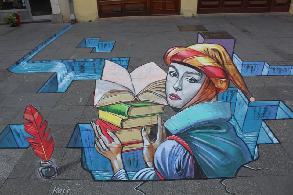 3D grafiti/Photo: Street Art Promo