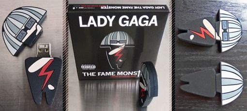 Lejdi Gaga, The Fame USB
