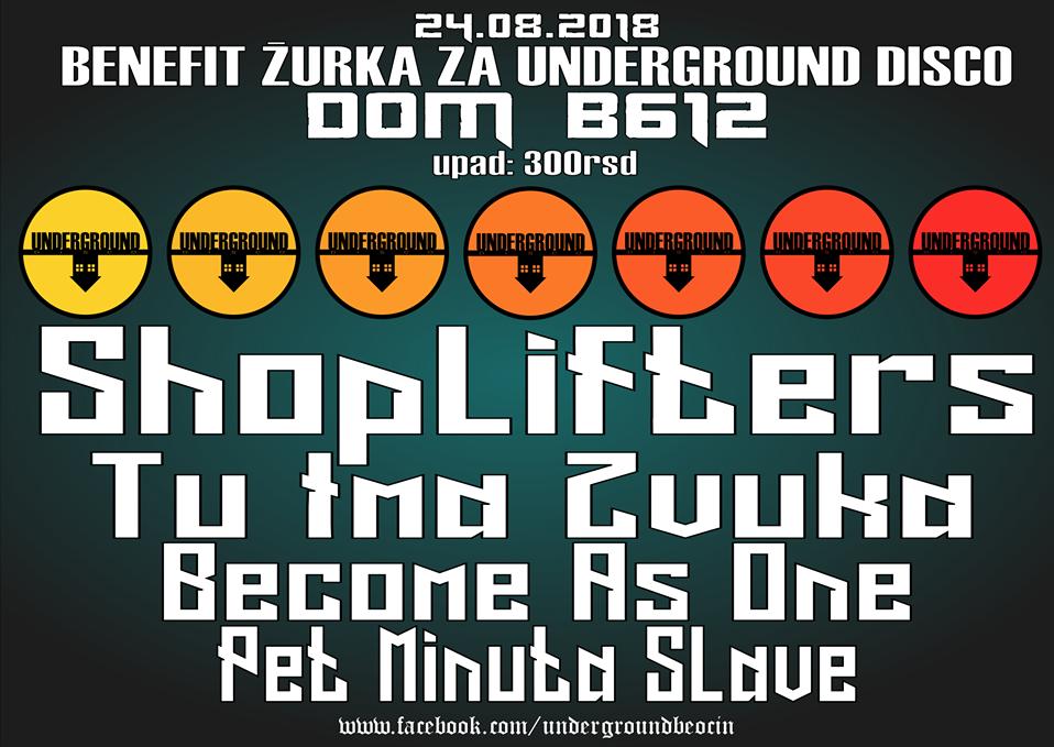Underground Disco/Plakat