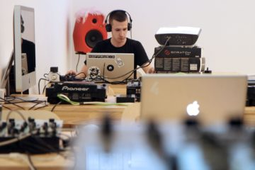 Ein Student der Electronic Music Academy/Photo ©Votava / PID